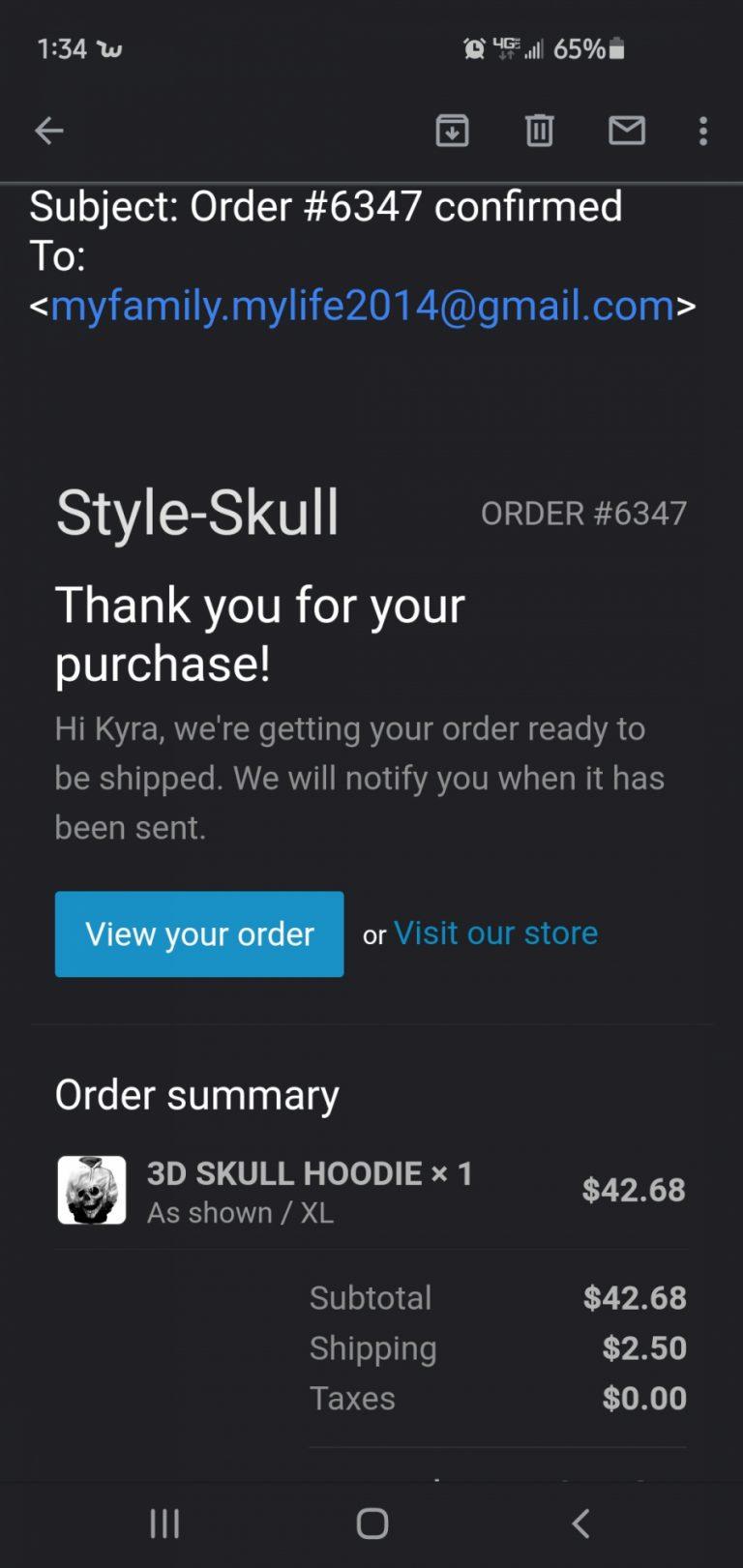 Styleskull